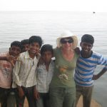 Boys I met while waiting for our houseboat in Kerala