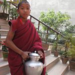 Young Buddhist monk in Nepal
