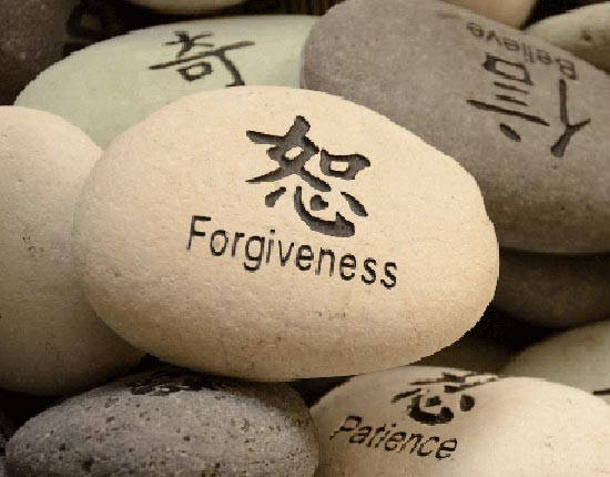 Zen rock of Forgiveness