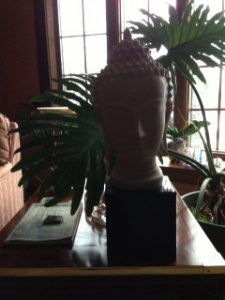 The Buddha in my meditation room