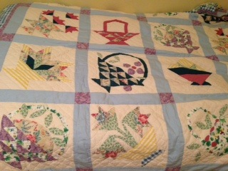 A torn quilt can still keep us warm-Poem on  life's challenges.